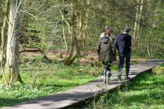 Walk around our nature reserves