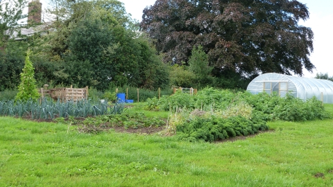 Bickley Hall Farm Garden c. Claire Huxley