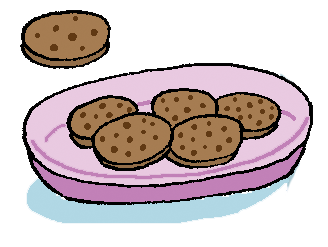 biscuits illustration