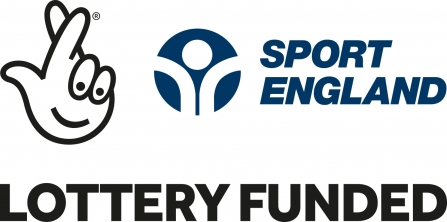 Sport England lottery funded logo