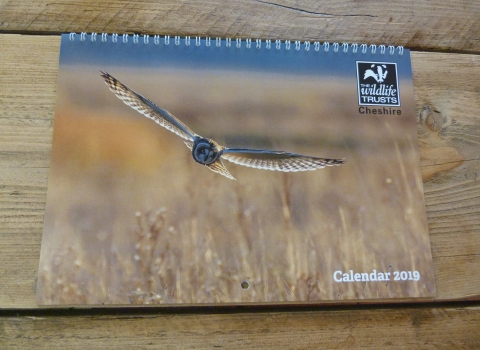 2019 Cheshire Wildlife Calendar